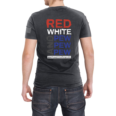 Red, white and pew pew pew back