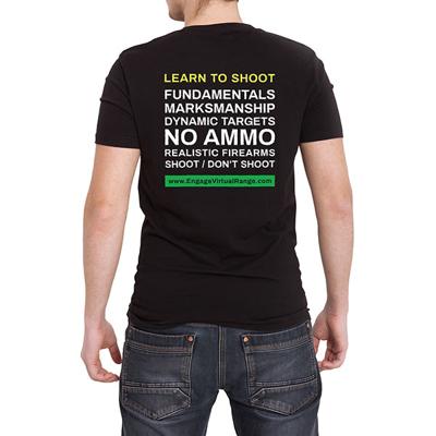 Learn to shoot tshirt back