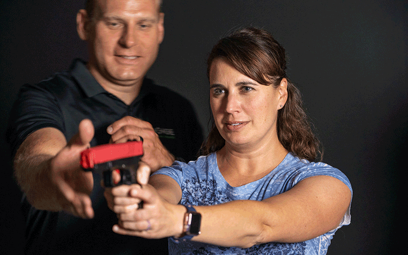 Customized and personalized handgun training