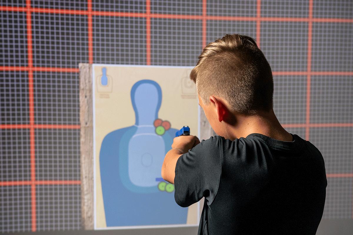 Virtual marksmanship training