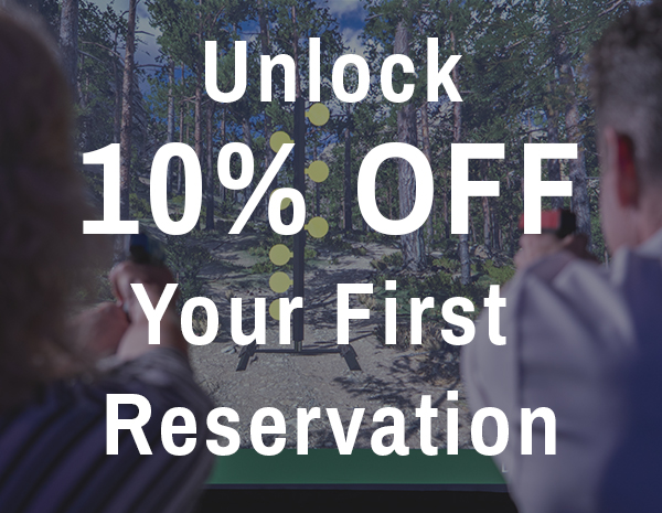 Save on your first visit to the range