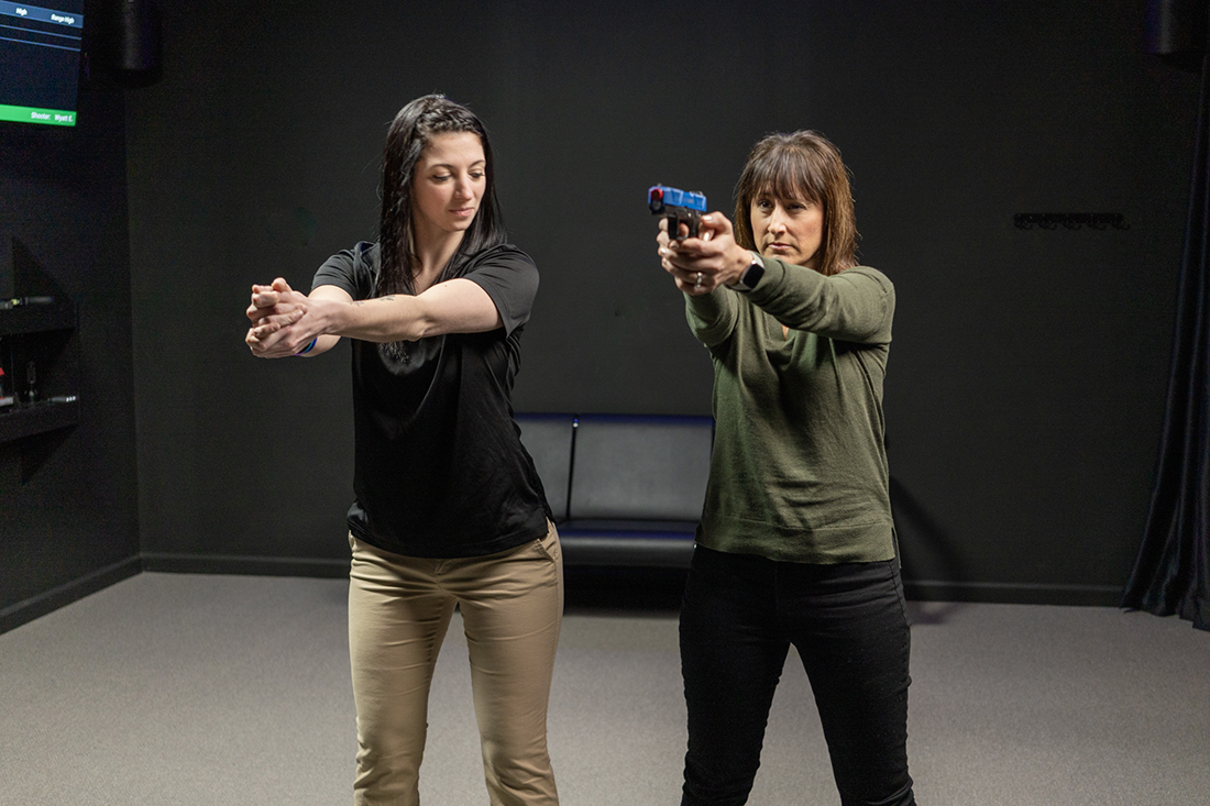 Virtual Gun Range Instructors