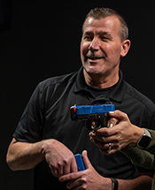 Professional instructor Terry