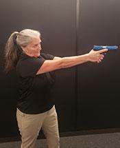 Professional instructor Tamara